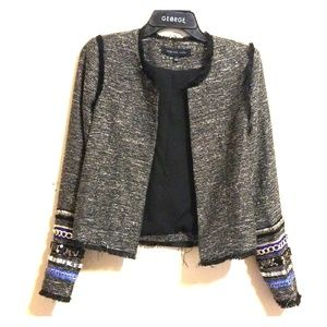 BoGo!👋 English Rose Embellished Blazer/Jacket